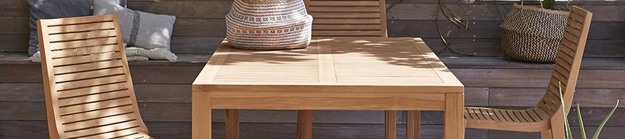 Tippek valódi fa kerti bútor választásához!