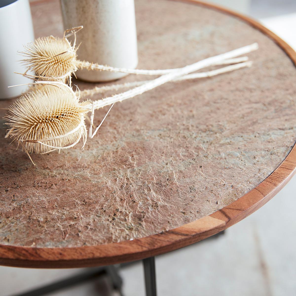 TEMIS akáciafa egymásba rakható asztalok