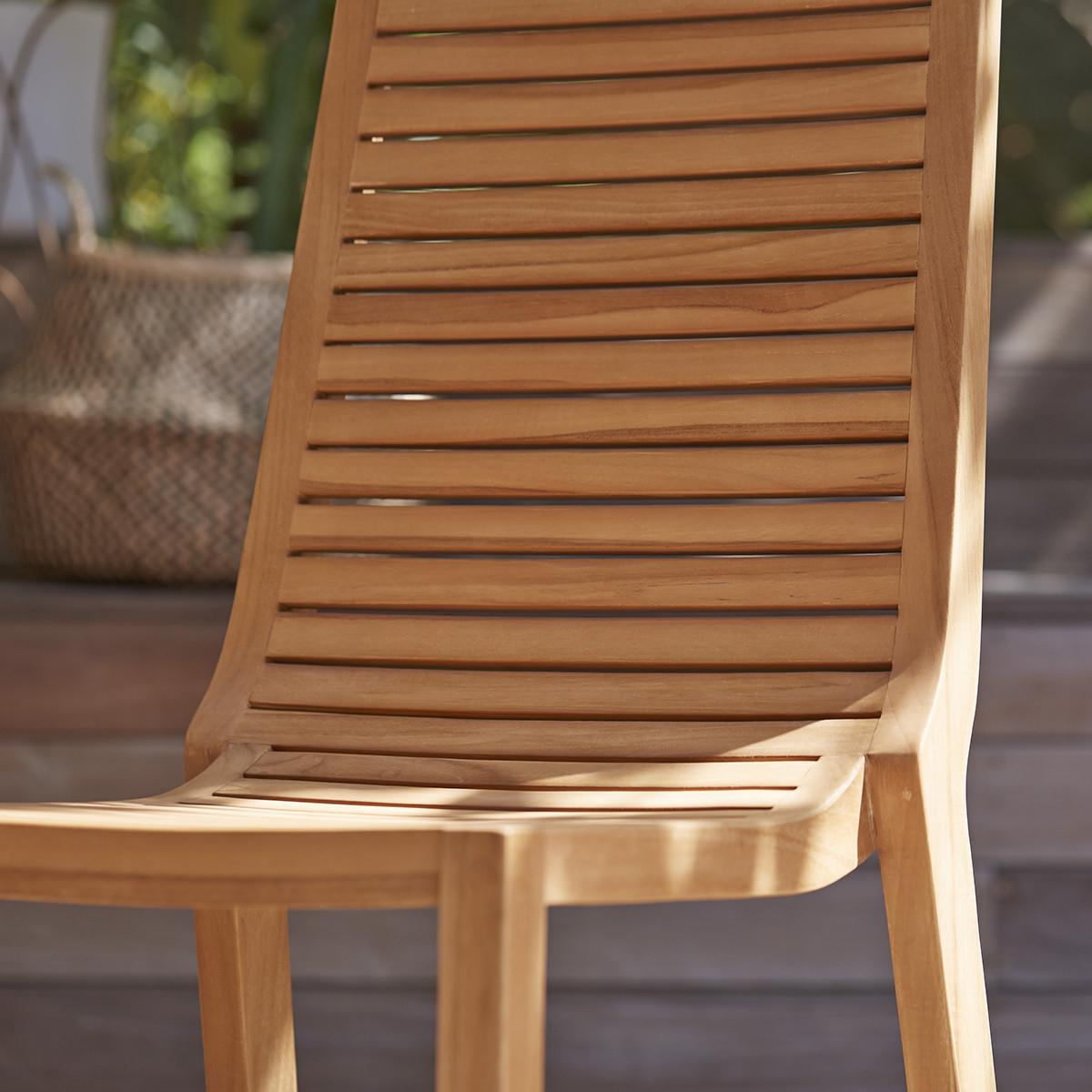 TEO teakfa kültéri szék